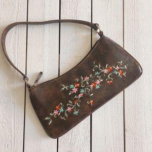 ALDO Boho Style Leather Shoulder Bag
